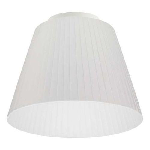 Natynkowa LAMPA sufitowa KAMI ELEMENTARY S CP 1/C/WHITE Sotto Luce abażurowa OPRAWA plafon biały