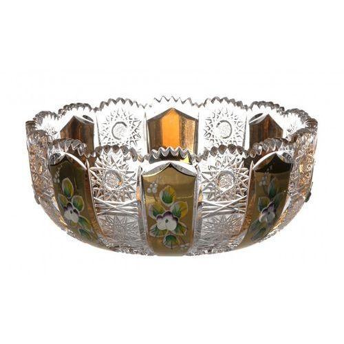 Caesar crystal 159741 półmisek 500k złoto i, szkło kryształowe bezbarwne, średnica 180 mm