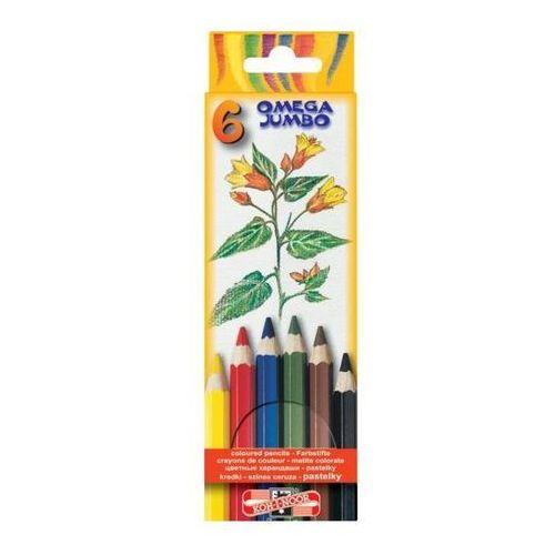 Kredki ołówkowe Koh-I-Noor Jumbo 3371 6kol.