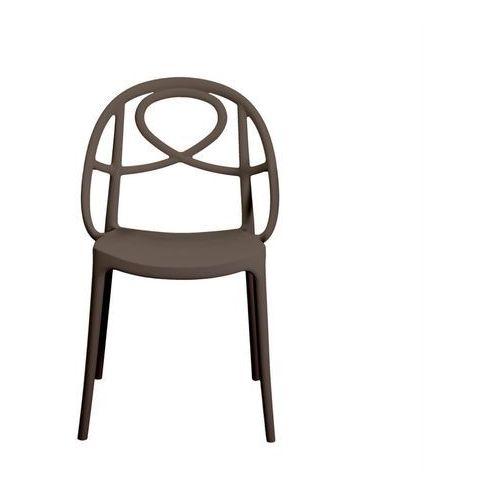 Krzesło ogrodowe Green Etoile brązowe