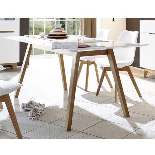 Fato luxmeble Nierozkładany stół malmo 180 w stylu skandynawskim