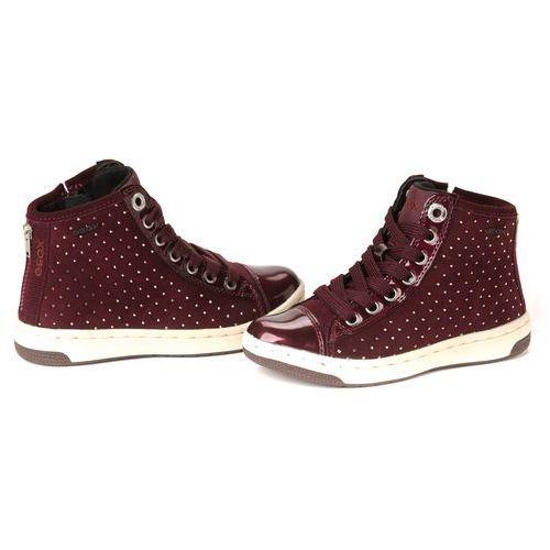 Geox buty za kostkę dziewczęce 36 burgund ()