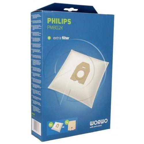 PMB02K Worki Perfect Bag (4szt.) + filtr wlotowy (1szt.) do odkurzacza (5901362005861)