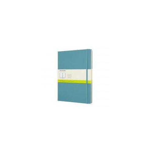 Notatnik classic xl gładki, twarda oprawa, błękitny marki Moleskine