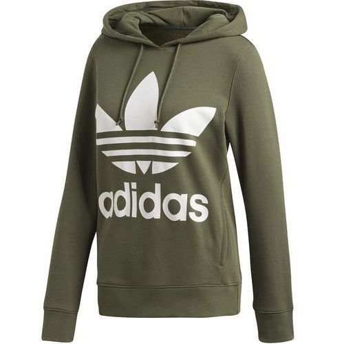 Bluza z kapturem trefoil dh3139 marki Adidas