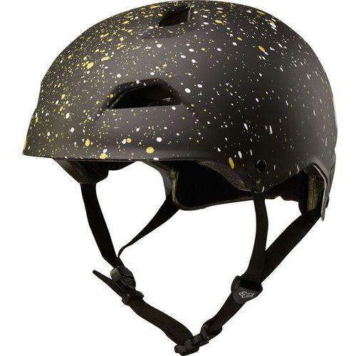 Fox flight splatter kask rowerowy mężczyźni czarny m | 55-56cm 2018 kaski rowerowe