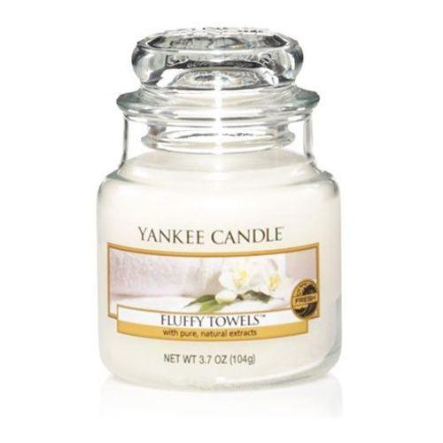 Świeca yankee słoik mały fluffy towels - ysmft1 marki Yankee home