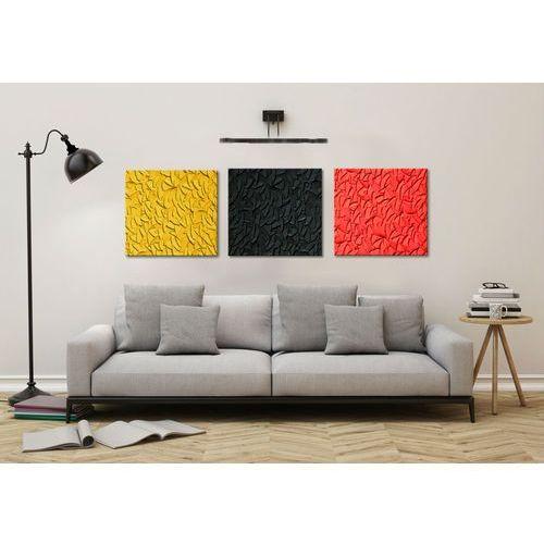 Modne obrazy abstrakcyjne tryptyk 3szt 50x50cm