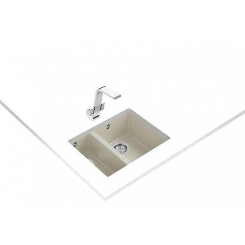 zlew podwieszany square 2b 560 tg kremowy marki Teka