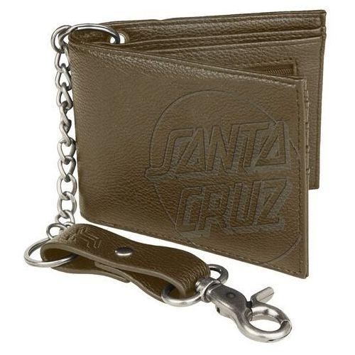 Portfel - opus dot chain wallet brown (brown ) rozmiar: os marki Santa cruz