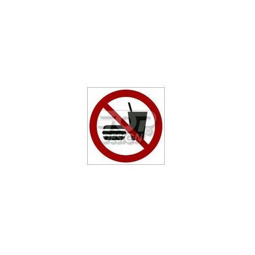 Top design Zakaz wstępu z jedzeniem i piciem