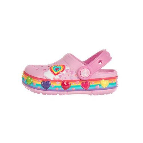 Crocs Crocband™ Fun Lab Lights Clog Crocs dziecięce Różowy 27-28