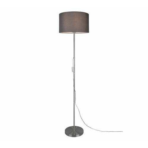 rl tarkin r40131007 lampa stojąca podłogowa 1x40w e27 niklowa/szara marki Trio
