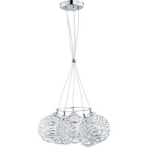 Lampa wisząca Alfa Amaso 20375.00 zwis 5x60W E27 chrom