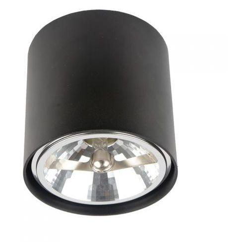 Zuma line Lampa sufitowa spot box okrągła czarna, 50630