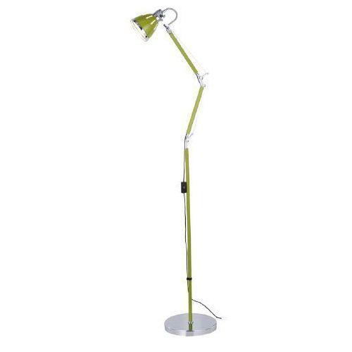 SPOT LIGHT LAMPA PODŁOGOWA JERONA 1xE27 60W 7051103, kolor oliwkowy/chrom