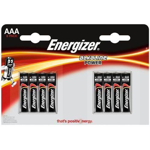 8 x bateria alkaliczna Energizer Alkaline Power LR03/AAA (blister), E300127802
