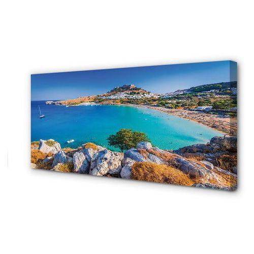 Obrazy na płótnie Grecja Wybrzeże panoramy plaża