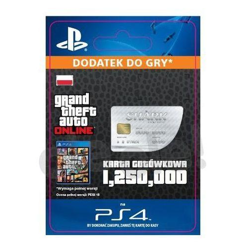 Sony Grand theft auto v karta gotówkowa gws [kod aktywacyjny] (0000006200121)