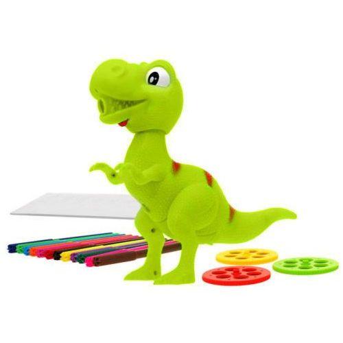 Kindersafe Dinozaur t-rex projektor do rysowania i malowania + pisaki 8189