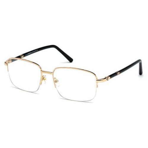 Mont blanc Okulary korekcyjne  mb0528 028