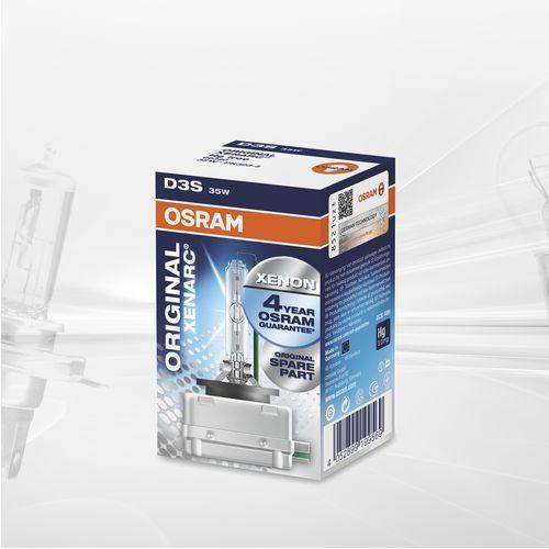 Żarówka samochodowa D3S OSRAM Xenarc Ultra Life, PK32d-5, 35 W, 42 V, 1 par(a)