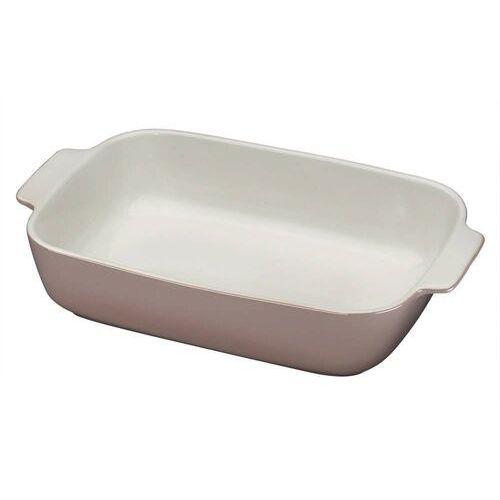 - provence - ceramiczna brytfanna - 36×22,5 cm - szaro-brązowa marki Kuchenprofi