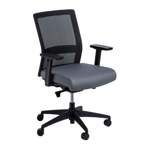 Fotel biurowy Press czarny/szary (5902385728591)