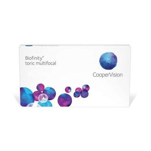 Cooper vision Biofinity toric multifocal, 3 szt.