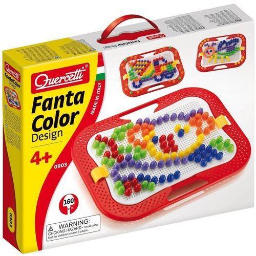 Quercetti , fanta color, zabawka kreatywna mozaika (8007905009031)