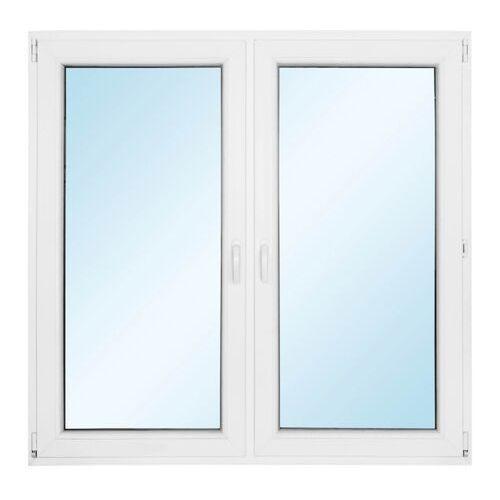 Okno PCV rozwierne + rozwierno-uchylne z mikrowentylacją 1465 x 1435 mm symetryczne (5908275616924)