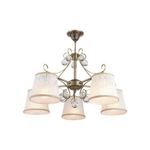 Lampa wisząca valerie 5x40w e14 brąz 7291 marki Rabalux