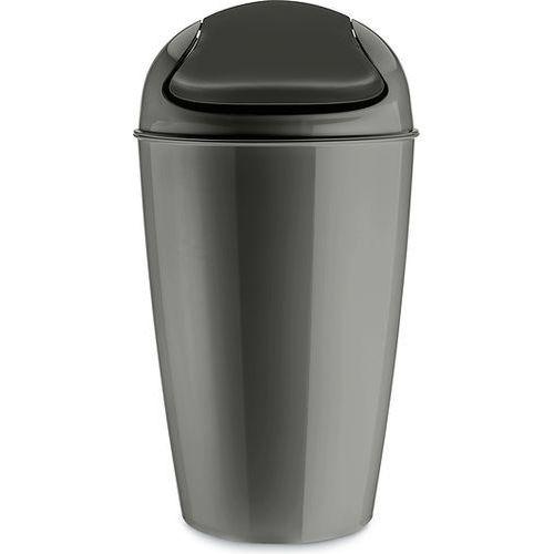 Kosz na śmieci Del XL ciemnoszary (4002942443071)