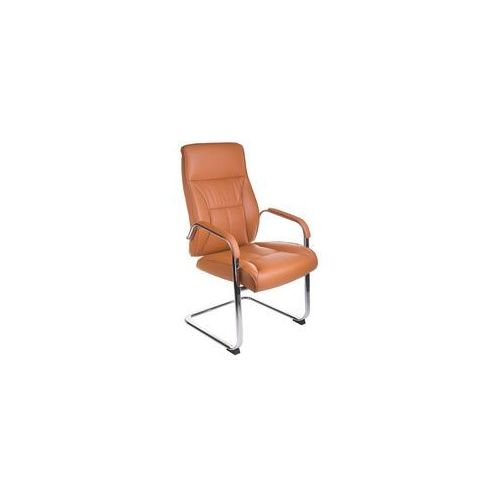Fotel konferencyjny CorpoComfort BX-5085C Brązowy