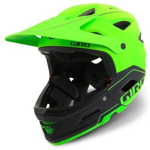 switchblade mips kask rowerowy żółty/zielony 51-55 cm 2018 kaski rowerowe marki Giro