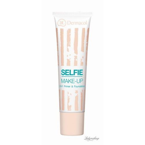 Dermacol  - selfie make-up - 2in1 primer & foundation - baza i podkład w jednym - 2 (85958661)