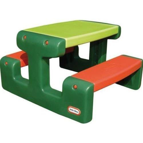 Maly stół piknikowy zielony
