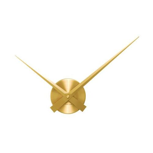 Zegar ścienny Little Big Time Mini gold by Karlsson, KA4348GD