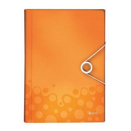 Leitz Teczka harmonijkowa wow a4/6 4589-44 pomarańczowa