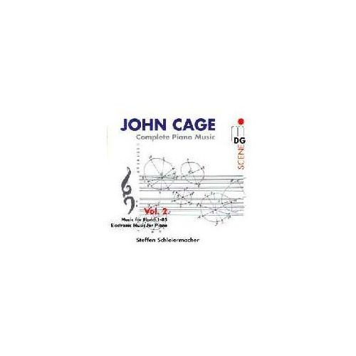 Cage: Complete Piano Music Vol. 2, 613 0784-2