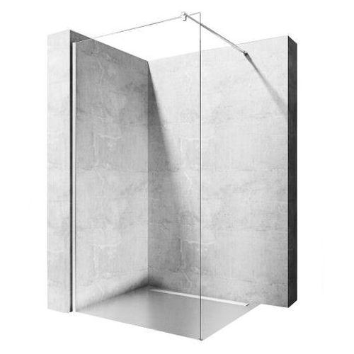 Rea Ścianka prysznicowa szkło 8 mm, 90 cm walk-in flexi uzyskaj 5 % rabatu na kabinę (5902557329885)