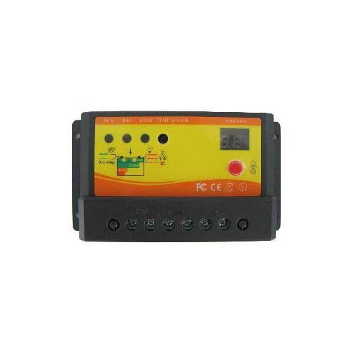 Regulator ładowania fotton nv20 20a 12v/24v dc z wyłącznikiem zmierzchowym i czasowym marki Centropol
