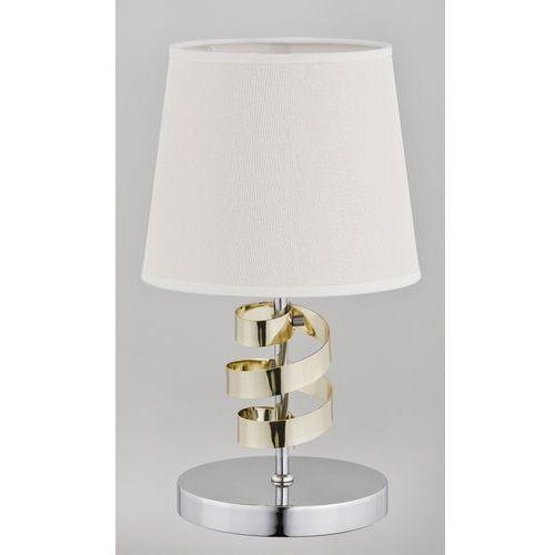 Lampa stołowa Alfa Sandra 1x40W E14 biała, chrom 22048