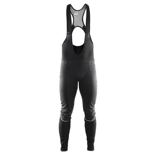CRAFT Storm Bib Tights - męskie spodnie rowerowe (czarny)