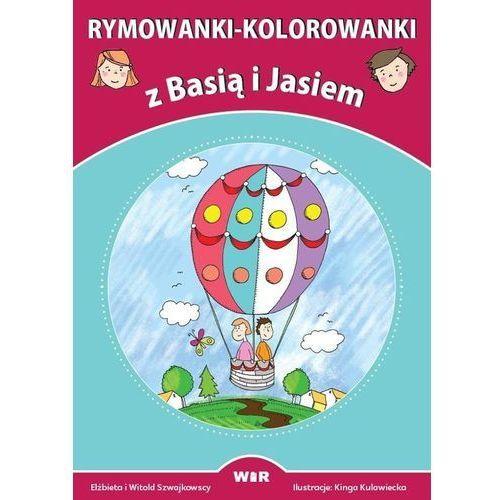 Wir Rymowanki-kolorowanki z basią i jasiem - praca zbiorowa (9788365423351)