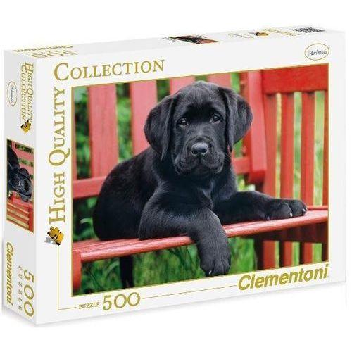 500 el. czarny pies marki Clementoni
