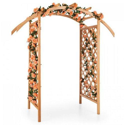 Blumfeldt Puerta del Sol pergola łuk ogrodowy lite drewno (4260457485928)