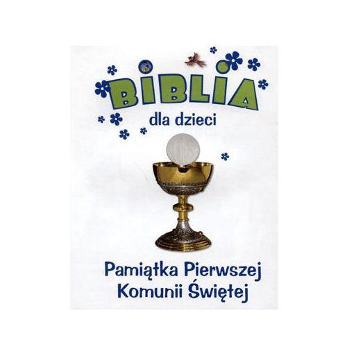 Pamiątka I Komunii Św. Biblia dla dzieci - Dawn Mueller (5900336014380)