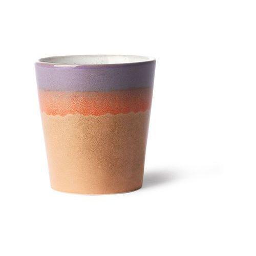 Hk living kubek ceramiczny 70's: sunset ace6860