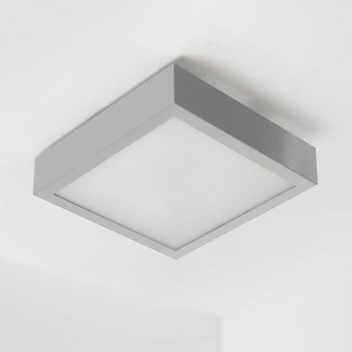 Plafon nekla 50 3xe27 srebrny mat. żarówki led gratis!, 1152p2101 marki Cleoni